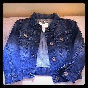 Oshkosh b'gosh toddler girls denim jacket